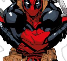 Deadpool - meet the cure #2 Sticker