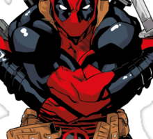 Deadpool - meet the cure #2 Sticker