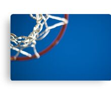 Shoot Hoops Canvas Print