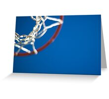 Shoot Hoops Greeting Card