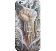 A junky's hand iPhone Case/Skin