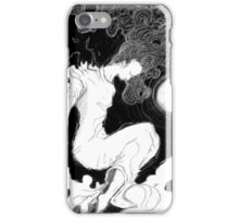 The woman in white iPhone Case/Skin