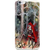 Red Hood iPhone Case/Skin