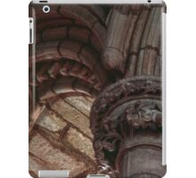 Capitals and arches Window arches in wall of church Lanercost Priory Cumbria England 19840526 0021   iPad Case/Skin