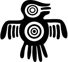 Aztec Bird Photographic Print