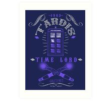 Time Lord Art Print