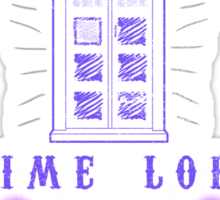 Time Lord Sticker