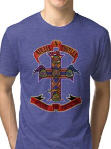 Ninjas N Turtles Tri-blend T-Shirt