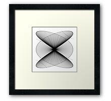 Lissajous XXIV Framed Print