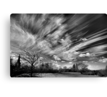 A Watched Sky Never Stops Canvas Print