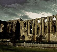 Abbey Ruins by Lee Kerr