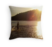 Gonubie River Throw Pillow