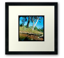 Milly's Creek  Framed Print