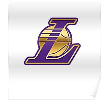 Lakers Gold & Purple Poster