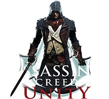 Assassins Creed Unity Art Photographic Print