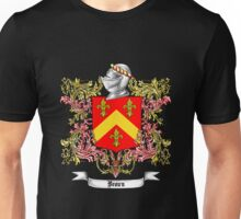 Brown Family Crest 3 Unisex T-Shirt