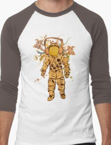 Vintage Spaceman Men's Baseball ¾ T-Shirt