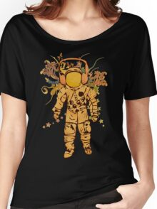 Vintage Spaceman Women's Relaxed Fit T-Shirt