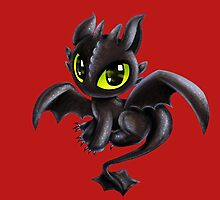 Baby Toothless by Ellador