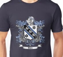 Brown Family Crest 4 Unisex T-Shirt