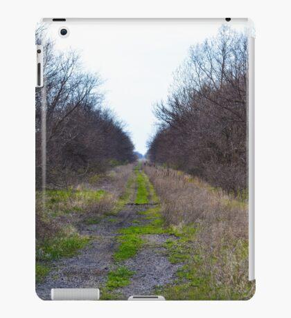 Abandoned Railroad  iPad Case/Skin