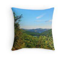 Adirondacks - High Peaks Throw Pillow