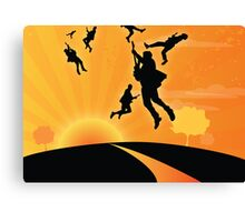 Gig in the sky Canvas Print