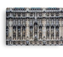 Palace of Westminster Detail #2 Canvas Print