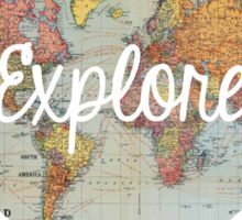 explore... Sticker