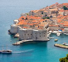 Dubrovnik Harbor, Croatia by bongo