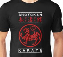Shotokan Karate (white text) Unisex T-Shirt