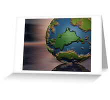 World Creation Greeting Card