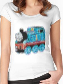 Train of Destiny Women's Fitted Scoop T-Shirt