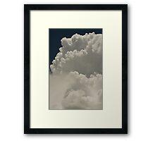 Cloud Stack Framed Print