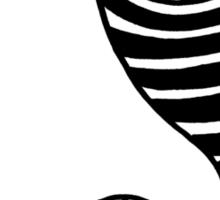 Trippy Eye Yin Yang Sticker