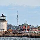 Portland Breakwater Lighthouse by Richard Bean
