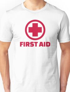 First aid Unisex T-Shirt