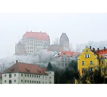 The old town of Landshut in Bavaria, Germany Photographic Print