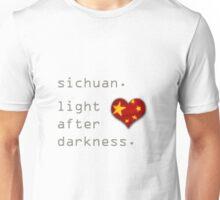 Sichuan Earthquake Light After Darkness Unisex T-Shirt