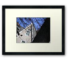 Suburban Gothic Framed Print