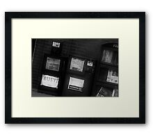 Daily Papers Framed Print