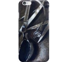 Wires and Scissors  iPhone Case/Skin