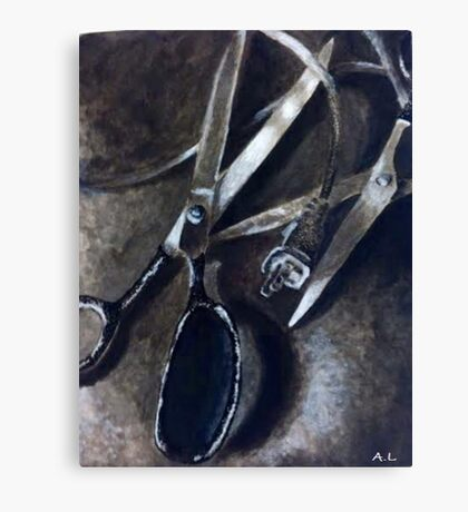 Wires and Scissors  Canvas Print