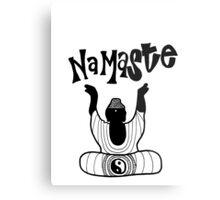"""""""Namaste"""" Buddha Metal Print"""