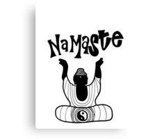"""Namaste"" Buddha Canvas Print"