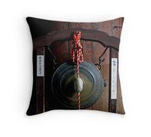 Todaiji Temple Throw Pillow