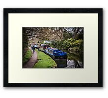 Riverboats on the Oxford Canal Framed Print