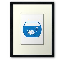 Blue Aquarium Framed Print