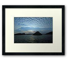 Galapagos  Cumulus  Framed Print