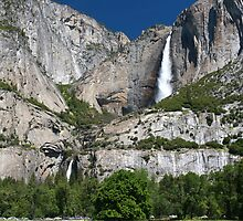 Yosemite Falls by Christophe Testi